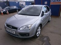 2005 FORD FOCUS, 1.6 Ghia 5DOOR, HATCHBACK, LEATHER SEATS, FULL SERVICE HISTORY, VERY CLEAN
