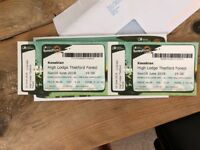 Kasabian tickets @ Thetford Forest 10th June x 2