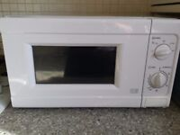 Microwave - rarely used - 10 months old.