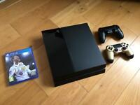 PS4 500gb with 2 controllers and FIFA 18