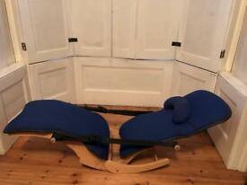 Orthopaedic chair made by Banana chair co.