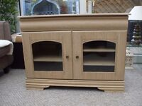 Light Oak Cabinet