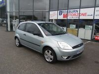 2003 03 FORD FIESTA 1.4 ZETEC 16V 3d 78 BHP **** GUARANTEED FINANCE ****