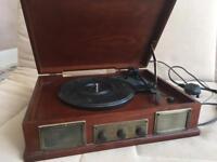 Steepletone Turntable player. Radio USB Vinyl