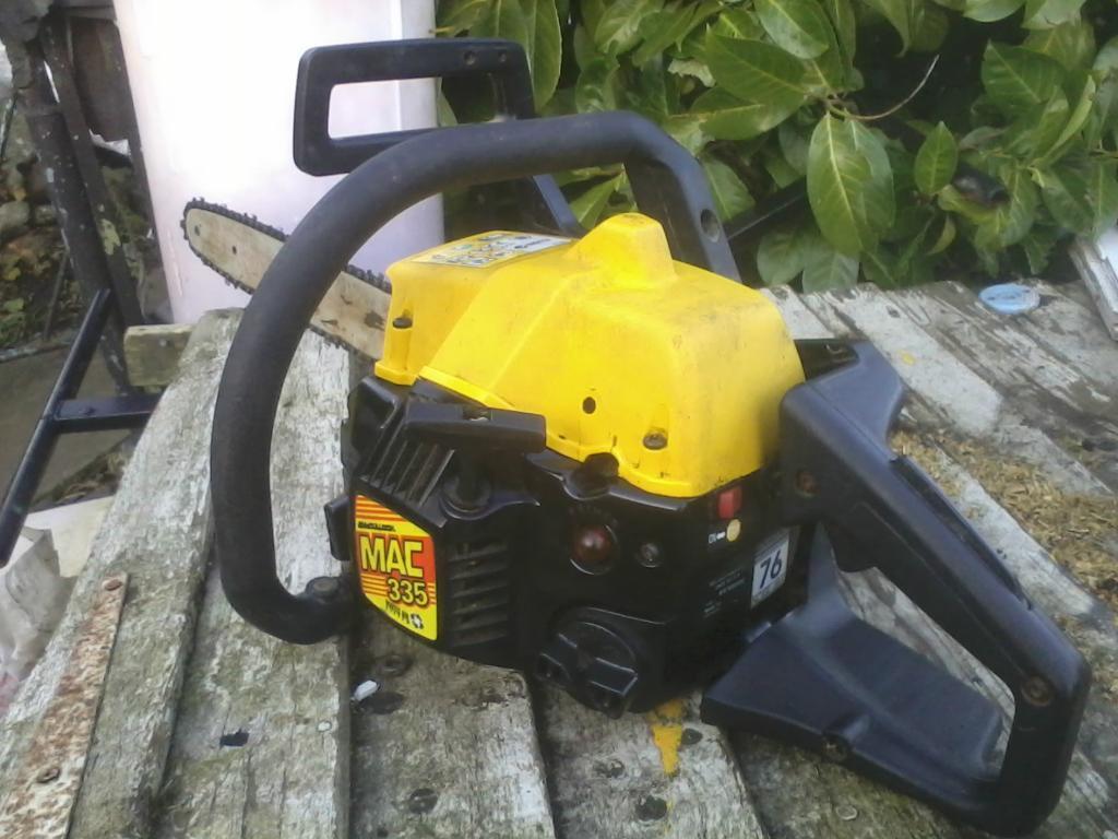 Free: Mcculloch MAC 335 Petrol Chainsaw - S2KI Honda S2000