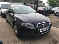 Audi A3 1.4 fsi 2006 Black BREAKING FOR PARTS
