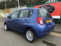 2009 (09 reg) Chevrolet Aveo 1.2 LS 5dr Hatchback Petrol 5 Speed Manual Low Miles