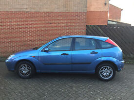 Ford Focus LX 1.6 5 door Blue 2003