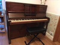 Upright Bannerman Piano