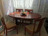 TABLE AND CHAIRS FOR SALE. £60 ONO