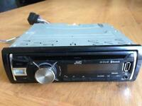 JVC CD/MP3/USB/AUX/TURNER/BLUETOOTH PLAYER STEREO MODEL KDR741BT SMETHWICK £35