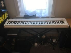 Roland Electric Piano FP - 30 White With Stool and Stand