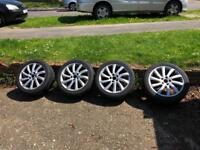 5x110 Alfa Romeo alloy wheels