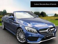 Mercedes-Benz C Class C 250 D AMG LINE PREMIUM PLUS (blue) 2016-10-31