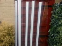 Coram folding shower screen in excellent condition