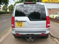 Land Rover Discovery 3 2.7TD GS 5dr 4WD 2010 (10 reg), SUV, SILVER, DIESEL, FULL SERVICE HISTORY