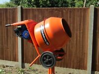 Belle petrol cement mixer, superb runner and condition.