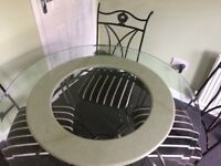 Kitchen table for sale with 4 chairs