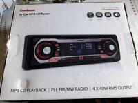 Goodmans in-car MP3 CD Tuner