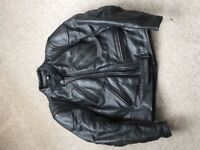 Ladies Leather Motorcycle Jacket and Trousers