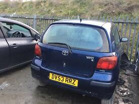 TOYATA YARIS T3 Breaking for parts