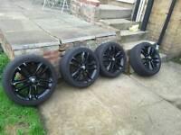 """17"""" Vauxhall blk alloys"""