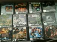 Playstation games old type