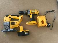 DeWALT drill/jigasw
