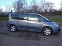 BLUE RENAULT ESPACE FOR SALE WITH ELECTRIC PANORAMIC SUNROOF