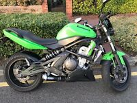 Kawasaki ER6F 650CC Streetfighter. Low Mileage. Arrow Exhaust. MOT August 2017. Incredible Bike