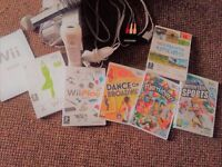 Nintendo Wii with Fitness Board and games!