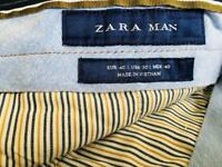 ZARA MAN MENS NAVY SMART/CASUAL SHORTS SIZE 30""