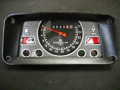 Ford Tractor Gauge Cluster 3600 5600 6600 7600 3910 5610 6610 7610 E5nn10849ba