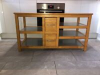 Solid Wooden Tv/DVD Unit