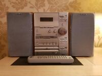 SONY HCD-CP33 CD PLAYER / MINIDISC / TAPE / RADIO STEREO HOME HIFI SYSTEM & SPEAKERS