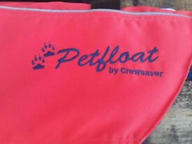 'CREW SAVER' Pet Afloat Dog Life Jacket - LARGE