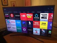 L@@K !! 55in Samsung 4k UHD SMART TV -1400hz- wifi - Freeview HD