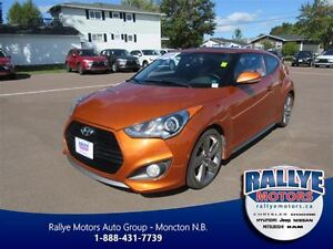 2013 Hyundai Veloster Turbo! Leather! Nav! Sunroof!