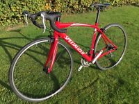 Racing bicycle Specialized Allez small 52cm suit someone up to 5ft 7in or 5ft 8in