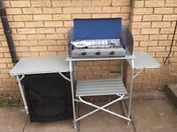 Vango Camping Kitchen with Camping Chef Stove