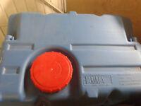 fiama 70ltr fresh water tank