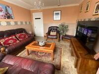 Luxurious large double room with king size bed short/long stay close to the city from £50 P night