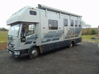 Iveco ford Horse box