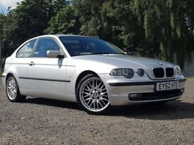 BMW 3 SERIES COMPACT 316 SE TI