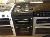 Belling 50cm gas cooker (glass lid)