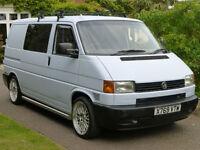 VOLKSWAGON TRANSPORTER VW T4 CAMPER / DAY VAN / CAMPERVAN 2001 2.5 TDI 145BHP 12 MON MOT