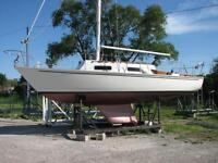 25 foot Hinterhoeller Limited Sailboat *DOCKAGE INCLUDED