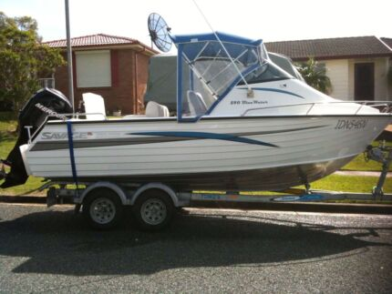 Aluminium 2008 Savage bluewater 540 sL Maryland 2287 Newcastle Area Preview