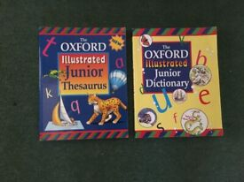 The Oxford Illustrated Junior Dictionary and Illustrated Junior Thesaurus