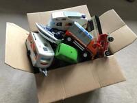 Large box of Playmobil